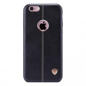 Nillkin Englon Series High Quality PC Leather Case for iPhone 6 Plus - Black