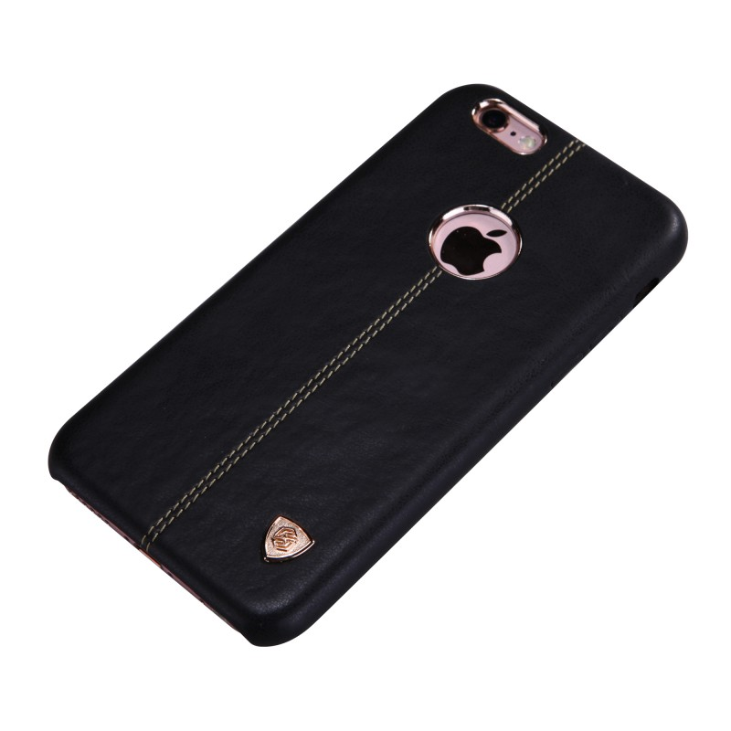 best service 98dfc 378e5 Nillkin Englon Series High Quality PC Leather Case for iPhone 6 Plus - Black