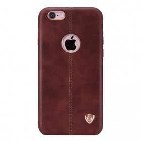 Nillkin Englon Series High Quality PC Leather Case for iPhone 6 Plus - Brown