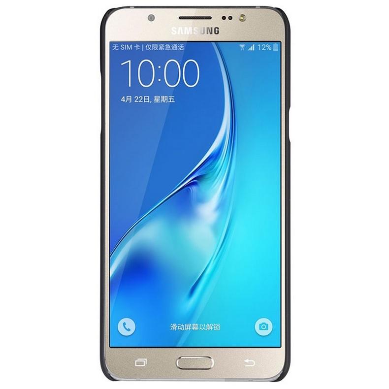 ... Nillkin Super Frosted Shield Hard Case for Samsung Galaxy J7 2016 - Black - 4 ...