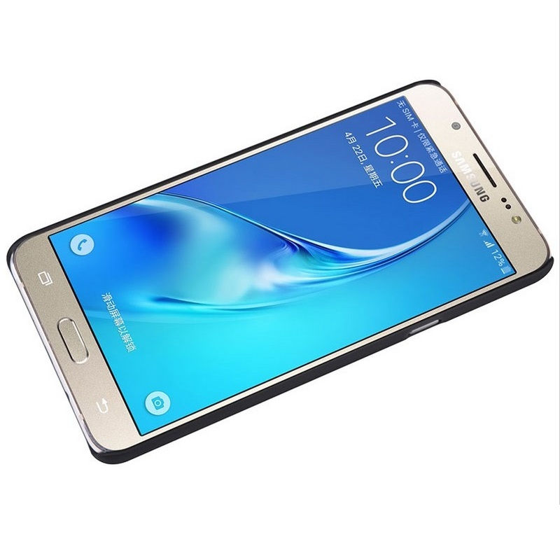 Nillkin Super Frosted Shield Hard Case for Samsung Galaxy J7 2016 - Black - 5 ...