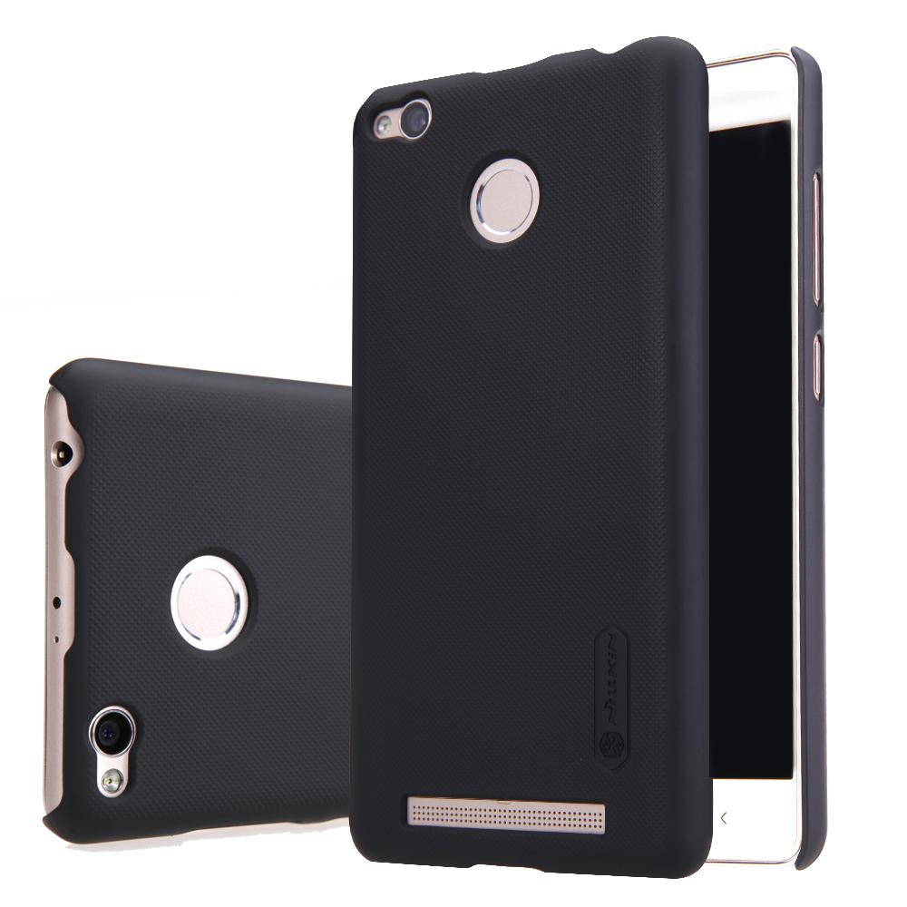 ... Nillkin Super Frosted Shield Hard Case for Xiaomi Redmi 3 Pro - Black - 1 ...