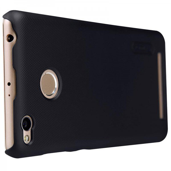 ... Nillkin Super Frosted Shield Hard Case for Xiaomi Redmi 3 Pro - Black - 2 ...