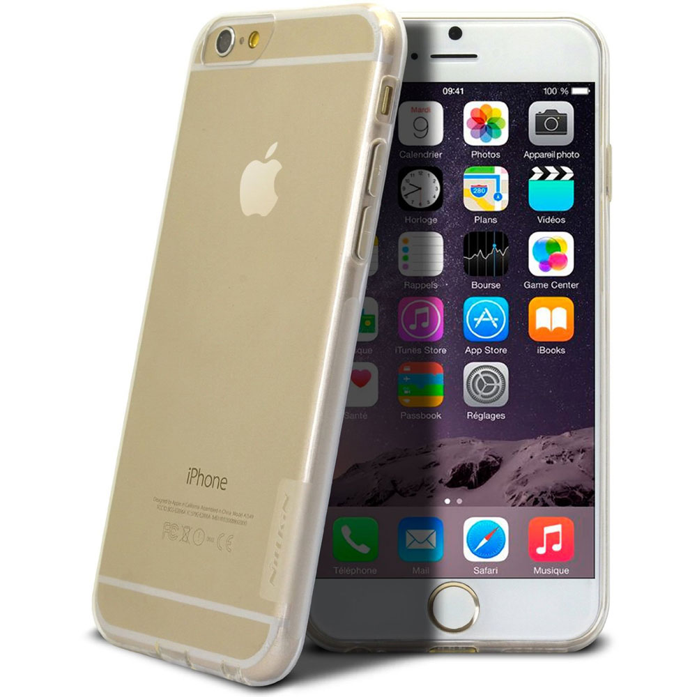 Nillkin Nature TPU Case for iPhone 6 6s - Transparent 0eced36ed1