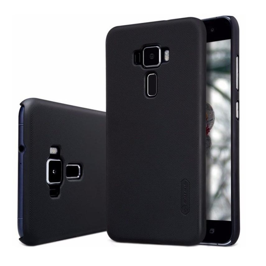the latest be8fb 02d36 Nillkin Super Frosted Shield Hard Case for Asus Zenfone 3 ZE552KL - Black