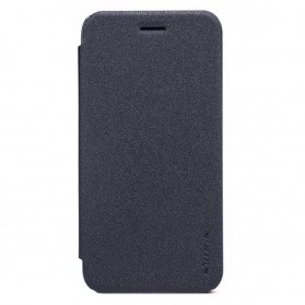 Nillkin Sparkle Flip Cover Case for Asus Zenfone GO ZB452KG - Black