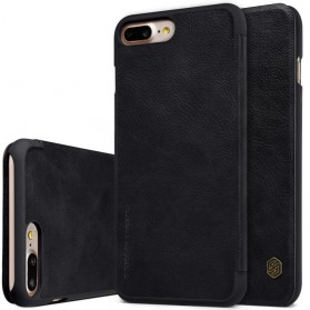 Nillkin Qin Series Leather Case for iPhone 7/8 - Black