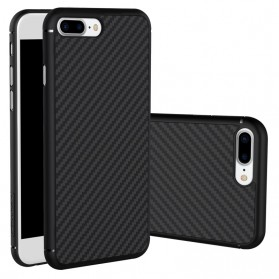 Nillkin Synthetic Fiber Series Protective Case for iPhone 7/8 Plus - Black