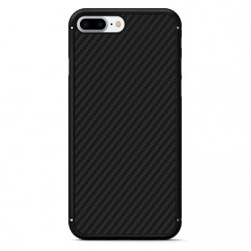 Nillkin Synthetic Fiber Series Protective Case for iPhone 7/8 Plus - Black - 3