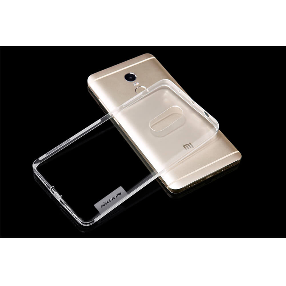 Nillkin nature tpu case for xiaomi redmi note 4 mediatek transparent - Xiaomi redmi note 4 case ...