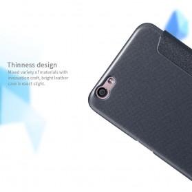 Nillkin Sparkle Window Case for Oppo R9S Plus - Black - 6