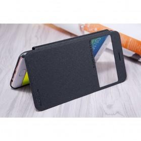 Nillkin Sparkle Window Case for Oppo R9S Plus - Black - 7