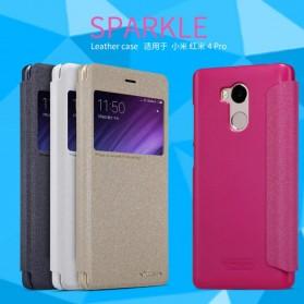 Nillkin Sparkle Window Case for Xiaomi Redmi 4 Pro - Black - 2