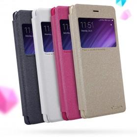 Nillkin Sparkle Window Case for Xiaomi Redmi 4 - Black - 3
