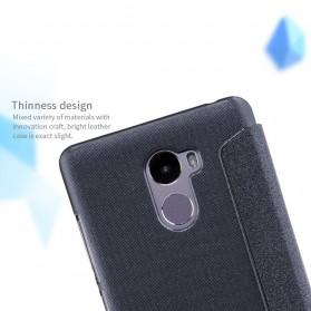 Nillkin Sparkle Window Case for Xiaomi Redmi 4 - Black - 6
