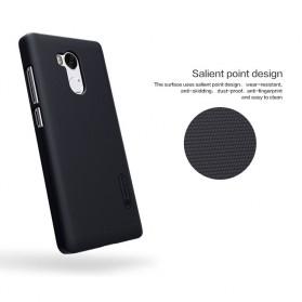 Nillkin Super Frosted Shield Hard Case for Xiaomi Redmi 4 Pro - Black - 4