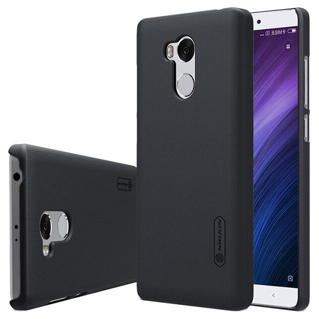 online store bca00 a7f27 Nillkin Super Frosted Shield Hard Case for Xiaomi Redmi 4 Pro - Black