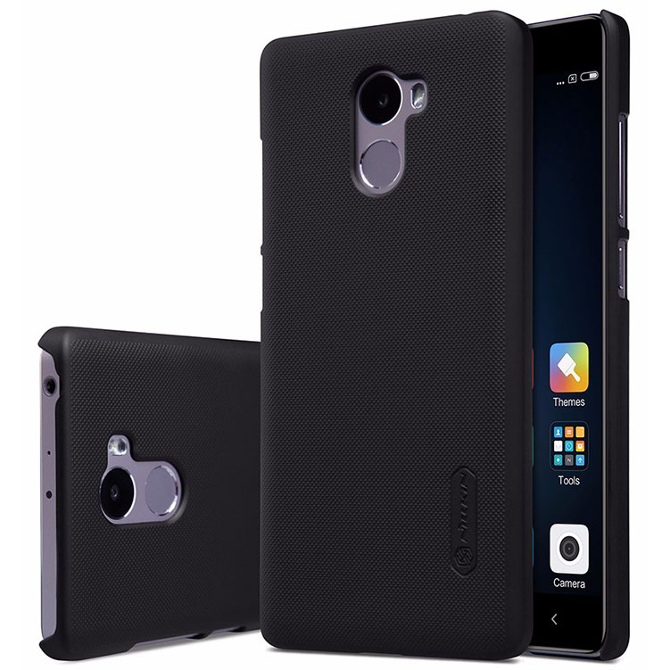wholesale dealer 5b584 171dc Nillkin Super Frosted Shield Hard Case for Xiaomi Redmi 4 - Black