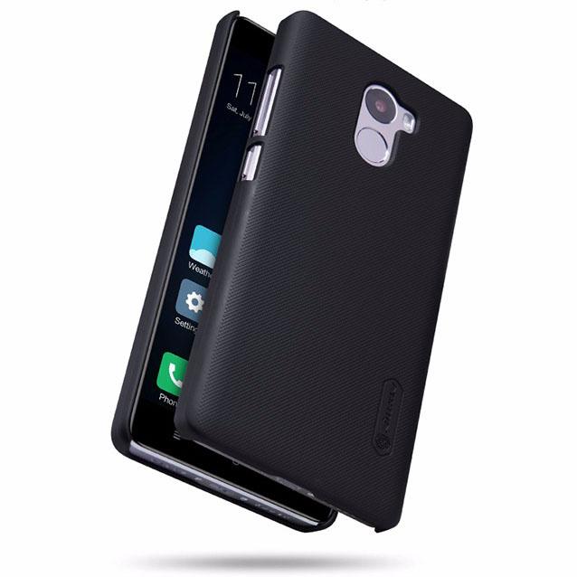 ... Nillkin Super Frosted Shield Hard Case for Xiaomi Redmi 4 - Black - 2 ...