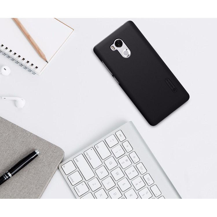 ... Nillkin Super Frosted Shield Hard Case for Xiaomi Redmi 4 - Black - 3 ...