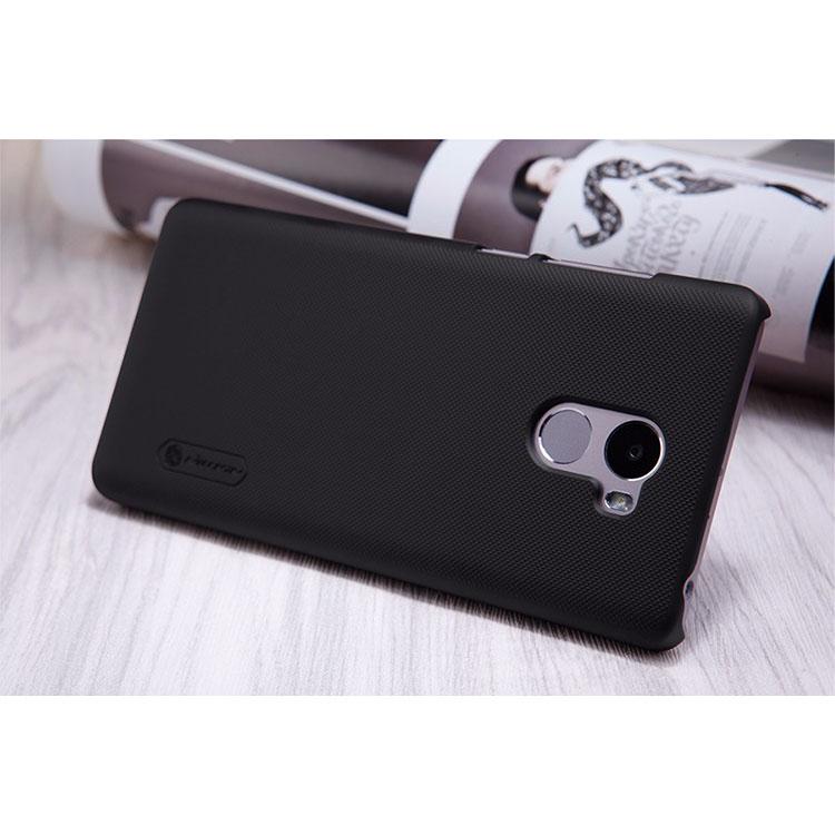... Nillkin Super Frosted Shield Hard Case for Xiaomi Redmi 4 - Black - 4 ...