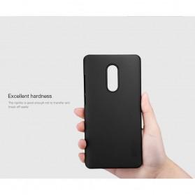 Nillkin Super Frosted Shield Hard Case for Xiaomi Redmi Note 4X - Black - 6