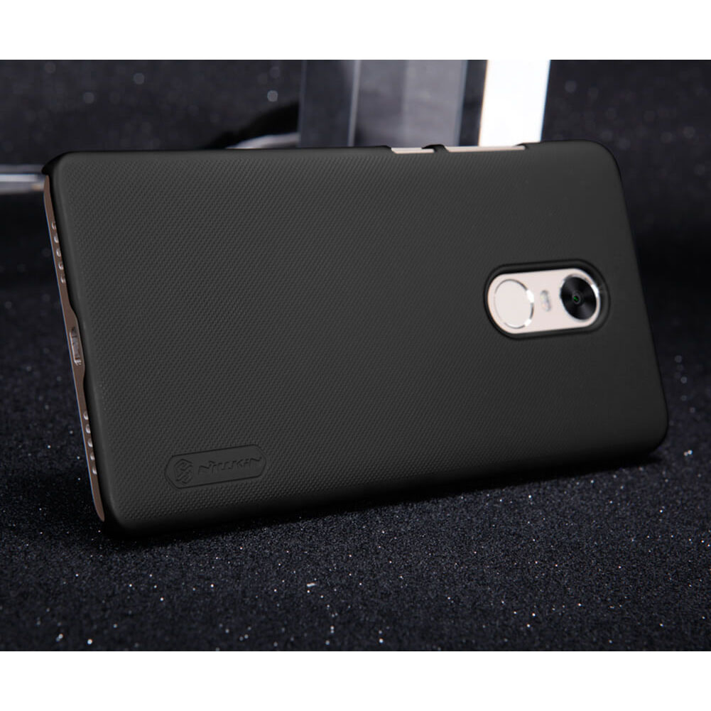 Nillkin Super Frosted Shield Hard Case For Xiaomi Redmi Note 4X Black JakartaNotebook