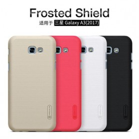 Nillkin Super Frosted Shield Hard Case for Samsung Galaxy A3 2017 - Black - 5