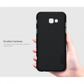 Nillkin Super Frosted Shield Hard Case for Samsung Galaxy A3 2017 - Black - 6