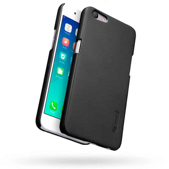 info for 4efeb 03c1f Nillkin Super Frosted Shield Hard Case for Oppo A57/A39 - Black