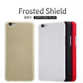 Nillkin Super Frosted Shield Hard Case for Oppo R9S Plus - Black - 5