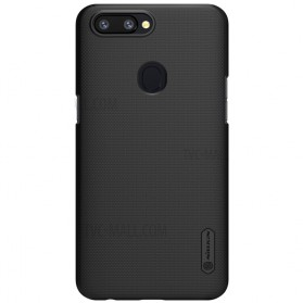 Nillkin Super Frosted Shield Hard Case for OPPO R11s Plus - Black - 3