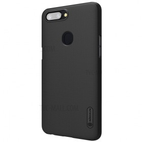 Nillkin Super Frosted Shield Hard Case for OPPO R11s Plus - Black - 4