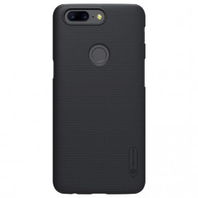 Nillkin Super Frosted Shield Hard Case for OnePlus 5T - Black - 3