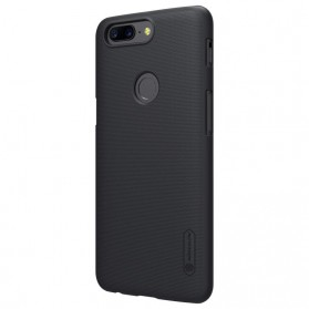 Nillkin Super Frosted Shield Hard Case for OnePlus 5T - Black - 5