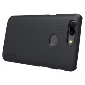 Nillkin Super Frosted Shield Hard Case for OnePlus 5T - Black - 6