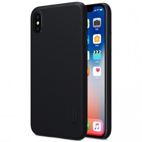 Nillkin Super Frosted Shield Hard Case for iPhone X - Black