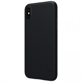 Nillkin Super Frosted Shield Hard Case for iPhone X - Black - 5