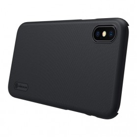 Nillkin Super Frosted Shield Hard Case for iPhone X - Black - 6