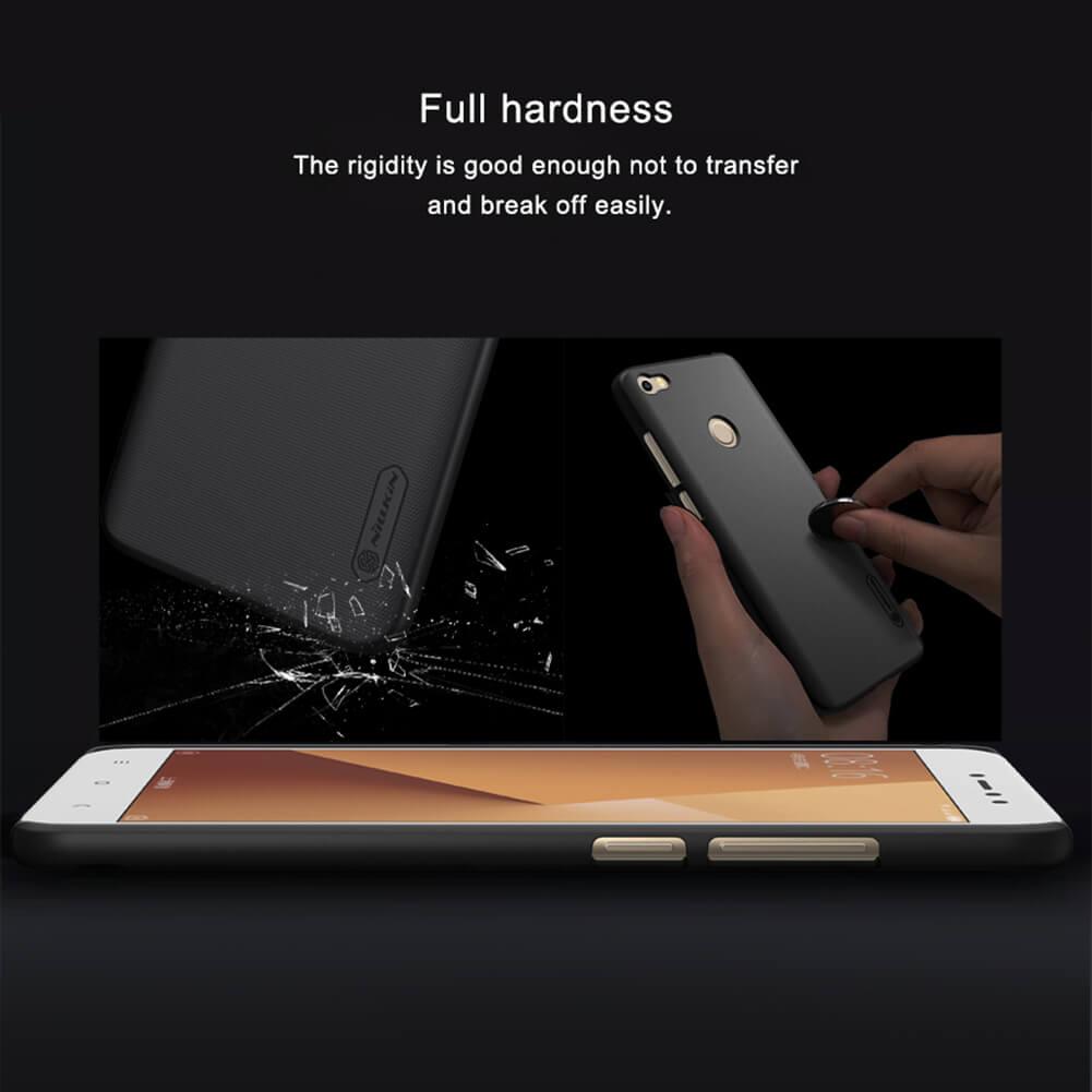 Nillkin Super Frosted Shield Hard Case For Xiaomi Redmi Note 5a Anti Crack No Fingerprint Prime Black 7