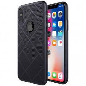Nillkin Air Series Ventilated Hard Case for iPhone X - Black