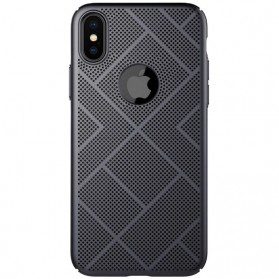 Nillkin Air Series Ventilated Hard Case for iPhone X - Black - 3