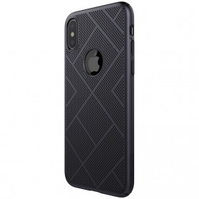 Nillkin Air Series Ventilated Hard Case for iPhone X - Black - 5