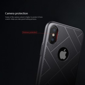 Nillkin Air Series Ventilated Hard Case for iPhone X - Black - 7