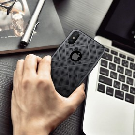 Nillkin Air Series Ventilated Hard Case for iPhone X - Black - 9