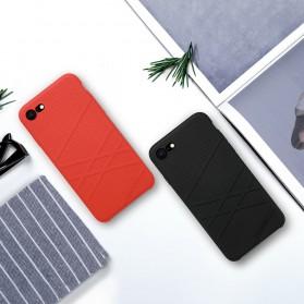 Nillkin Flex Liquid Silicone Soft Case for iPhone 7 Plus / 8 Plus - Black - 9