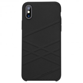 Nillkin Flex Liquid Silicone Soft Case for iPhone X - Black