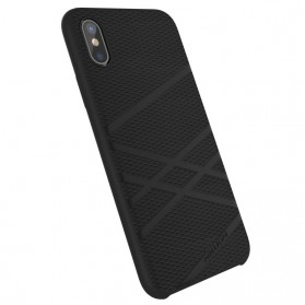 Nillkin Flex Liquid Silicone Soft Case for iPhone X - Black - 3