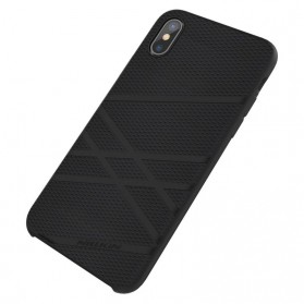 Nillkin Flex Liquid Silicone Soft Case for iPhone X - Black - 4