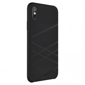 Nillkin Flex Liquid Silicone Soft Case for iPhone X - Black - 5